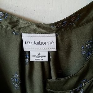 Liz Claiborne Tops - Silky Blouse Liz Claiborne